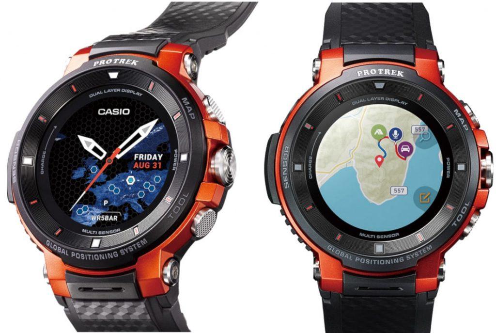 Casio PRO TREK Smart WSD-F30 rugged Wear OS watch ...