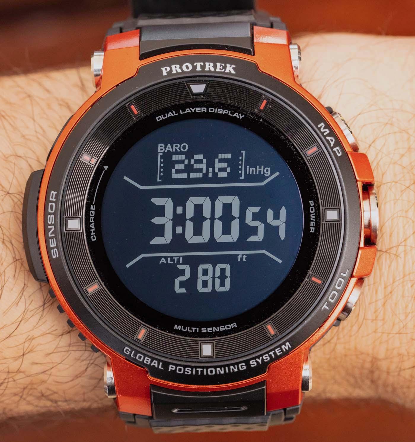 Casio Pro Trek Smart WSD-F30 Smartwatch Review | aBlogtoWatch