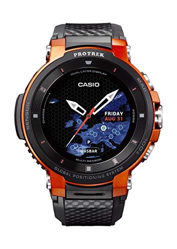 CASIO Pro Trek Touchscreen Outdoor Smart Watch Resin Strap, Black, 27 (Model: WSD-F30-RGBAU)