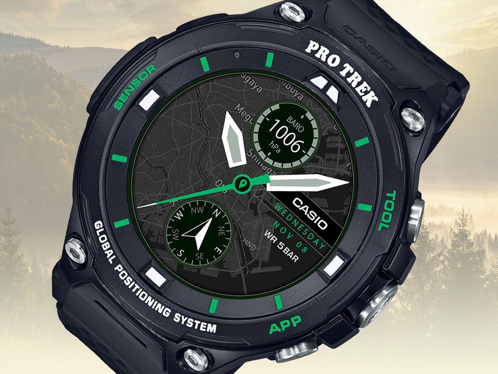 Casio Pro Trek WSD-F20X Smart Outdoor Watch | aBlogtoWatch