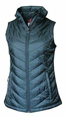 Columbia Womens Morning Light III Onmi Heat Winter Jacket Vest, Black (010 Large