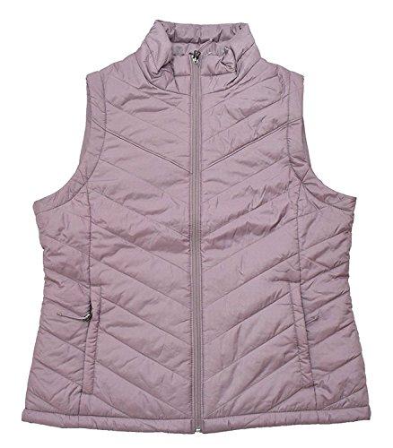 Columbia Women's Morning Light III Onmi Heat Winter Jacket Vest , ROSE DUST (XL)