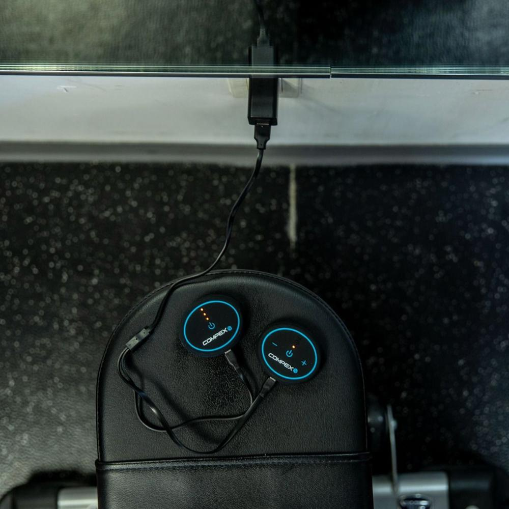 Compex Mini Wireless Muscle Stimulator   Rogue Fitness