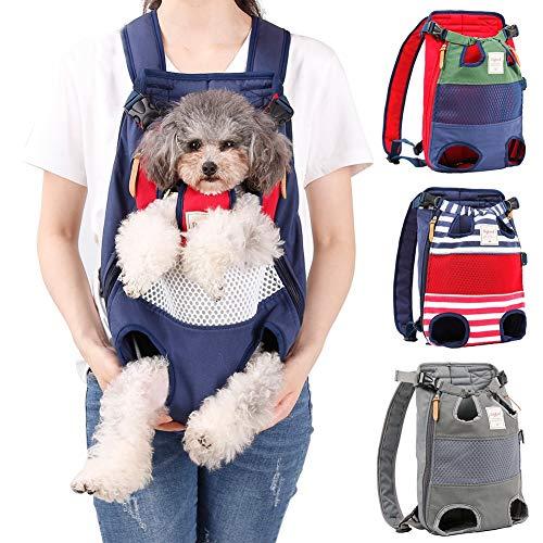 Coppthinktu Dog Carrier Backpack - RED/BLUE