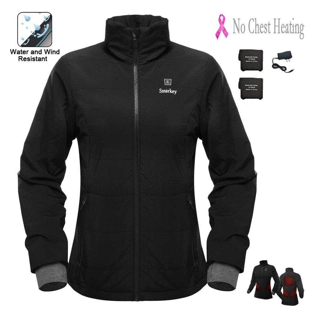 Cordless 7.4v Women's Heated Jacket Winter Outdoor Coat ...