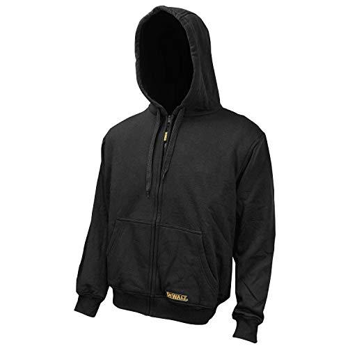 DEWALT DCHJ067B-XL 20V/12V Max Bare Hooded Heated Jacket, Black, X-Large