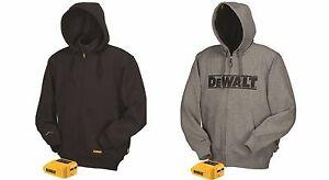 DEWALT Heated Work Jacket Hoodie Hoody Sweatshirt Outdoor ...