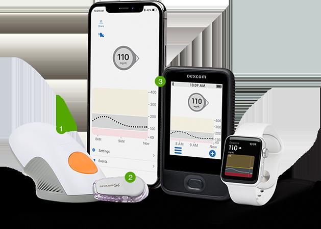 Dexcom G6 Continuous Glucose Monitoring (CGM) System ...