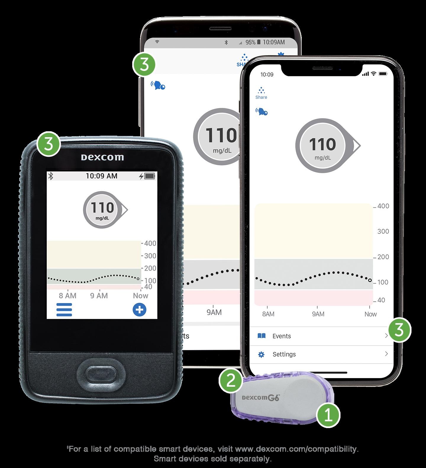 Dexcom G6 Mobile App For Personal CGM   Dexcom Provider