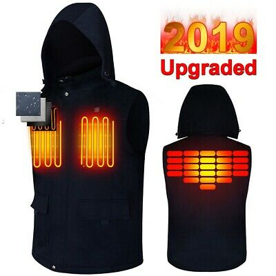 Electric Vest Heated Cloth Jacket Outdoor Rechargeable Heating Winter Warmer