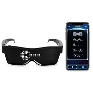 EYEFLASHES - LED Message Glasses 1