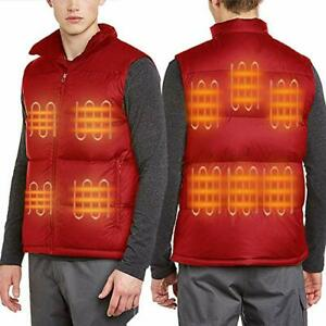 FERNIDA Men's Heated Vest Electric Body Warmer Unisex ...