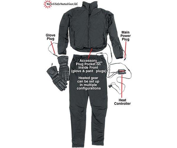 Firstgear Heated Socks Black - SoloMotoParts.com