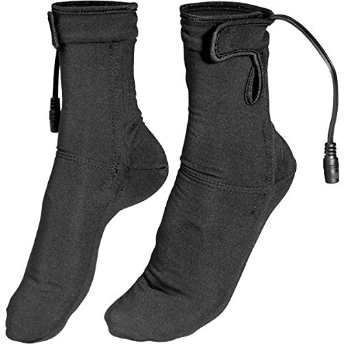 Firstgear Heated Socks (X-Small) (Black)