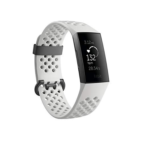 Fitbit Charge 3 SE - Graphite/White - Silicone