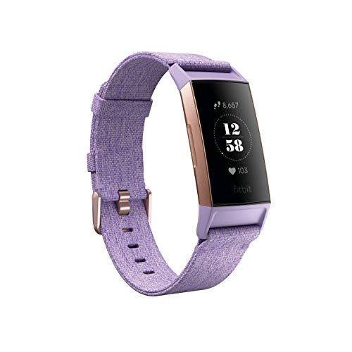 Fitbit Charge 3 SE - Lavender - Woven