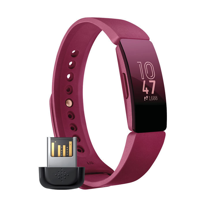 Fitbit Inspire + Wireless Sync Dongle (for non smartphone ...