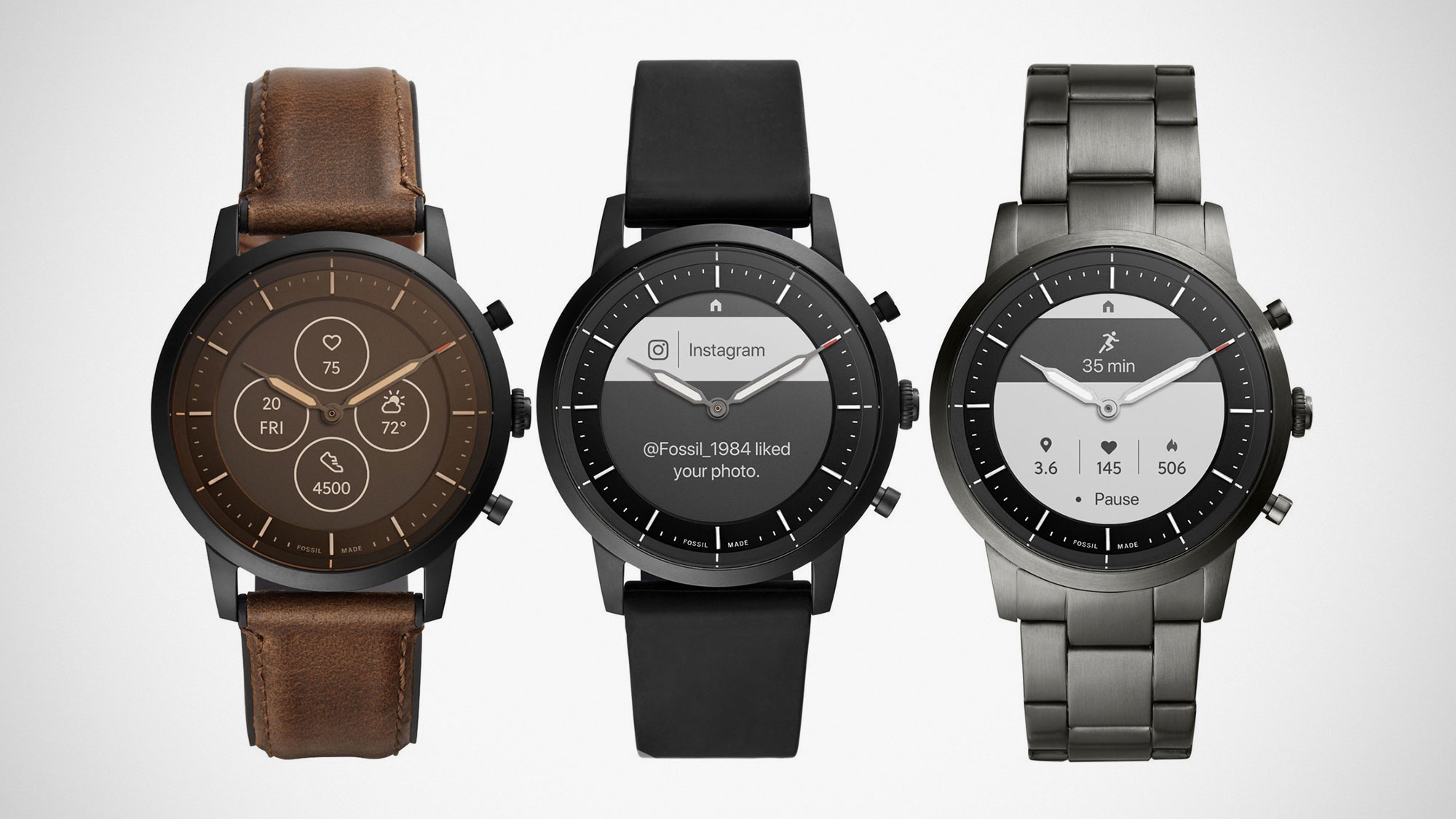 Fossil Collider DIANA Smartwatch Might Be Running On Wear ...