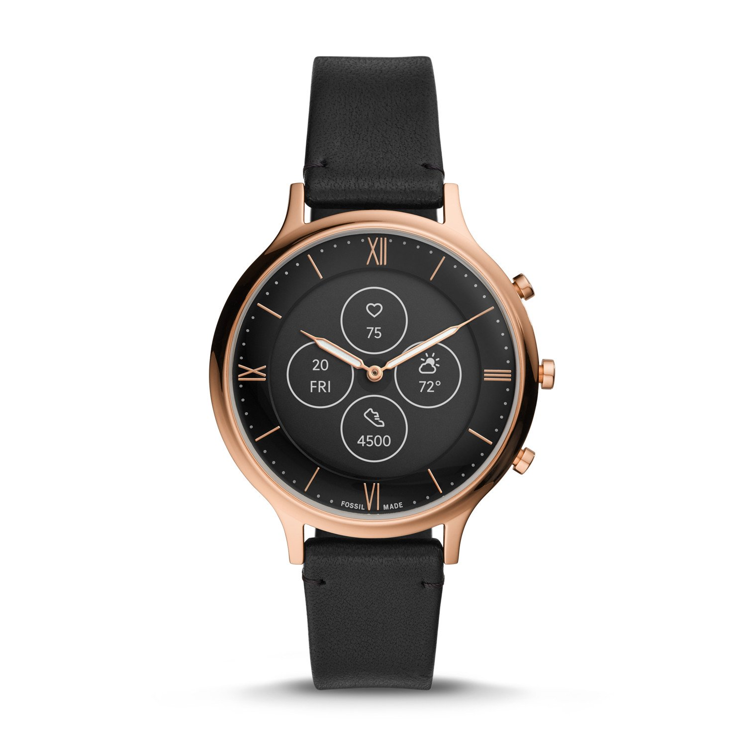 Fossil HR hybrid watches feature always-on display ...