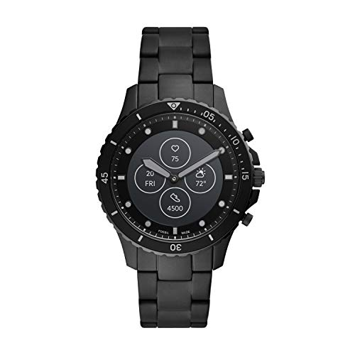 Fossil Hybrid HR - Black - Stainless Steel (FTW7017)