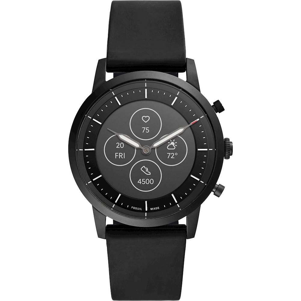 Fossil - Hybrid HR Smartwatch 42mm - Black