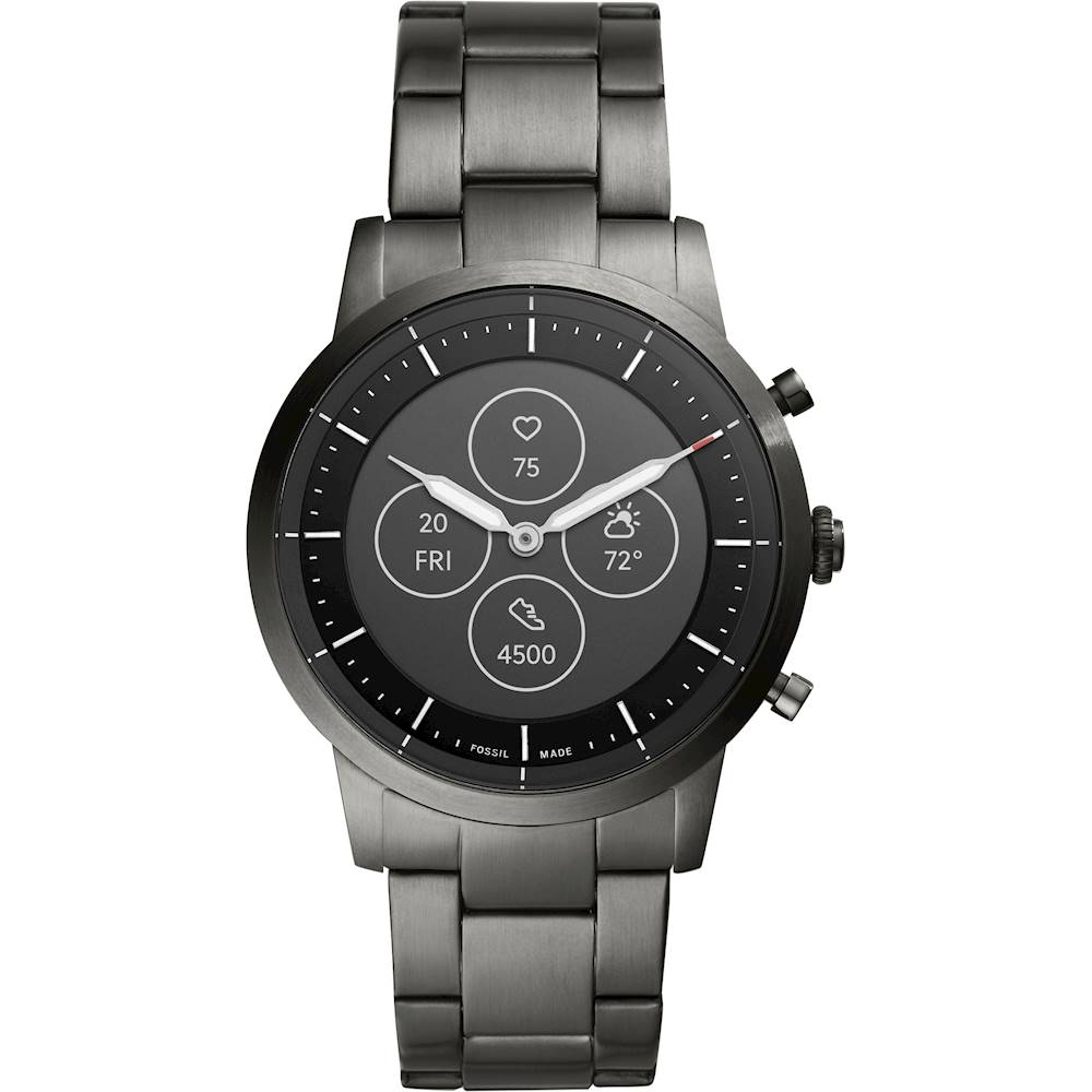 Fossil - Hybrid HR Smartwatch 42mm - Smoke