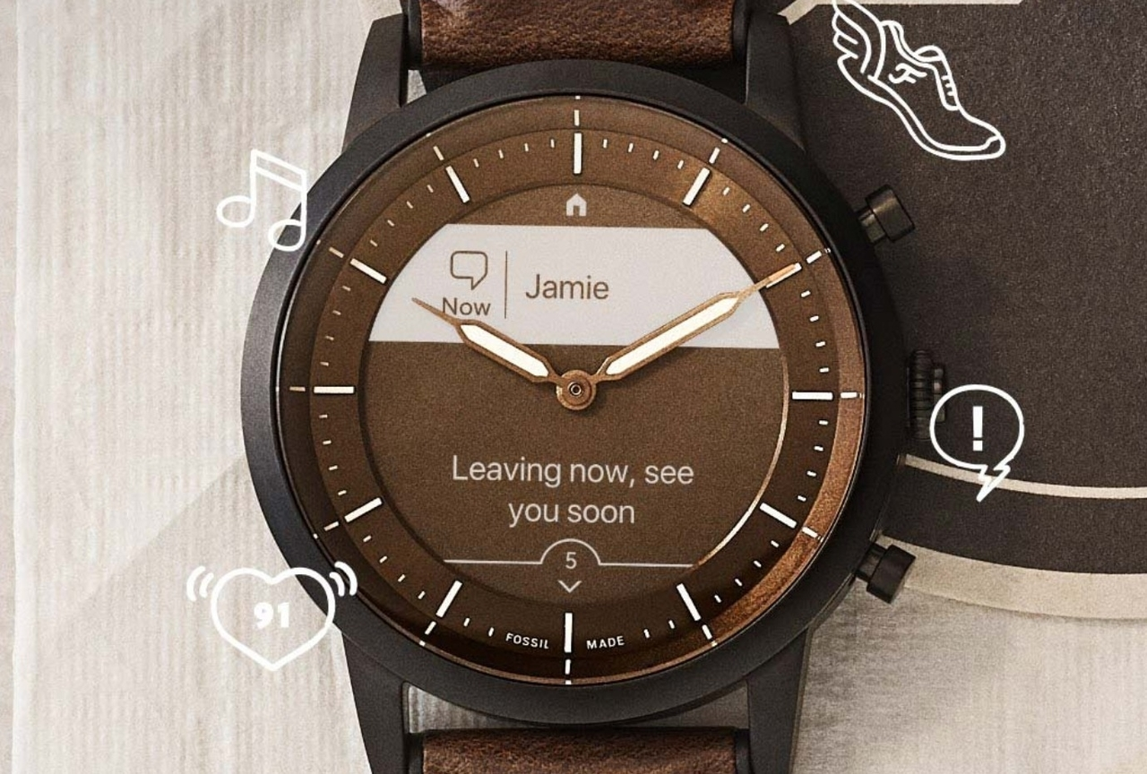 Fossil Hybrid HR Smartwatch Features E-Ink Display And Two ...