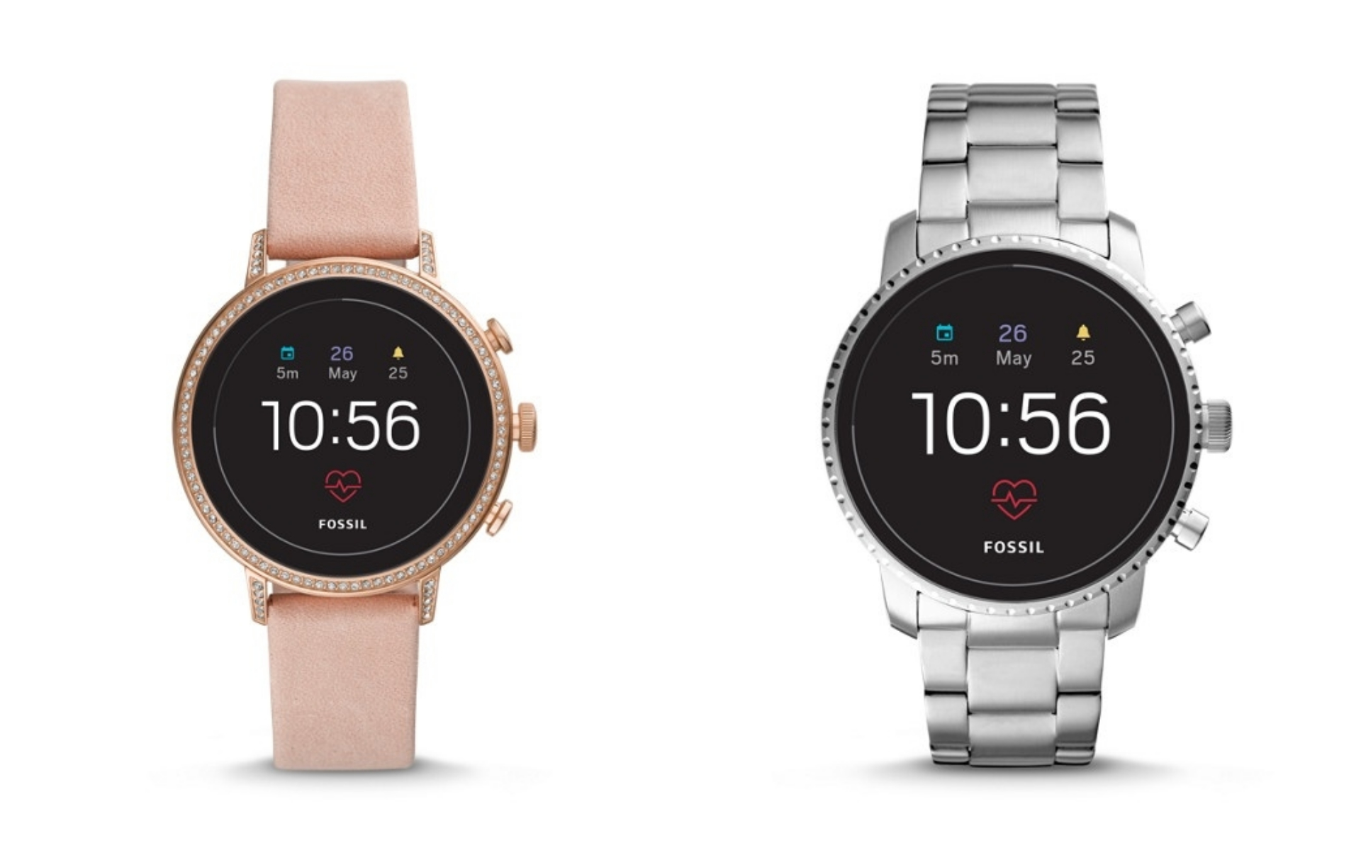 Fossil unveils new heart rate-tracking Gen 4 smartwatch range
