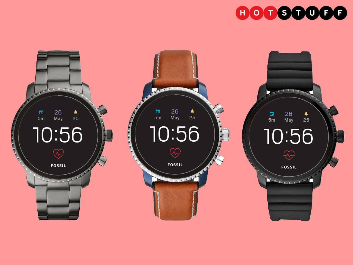 Fossil's fourth generation smartwatch is flippin' full of ...