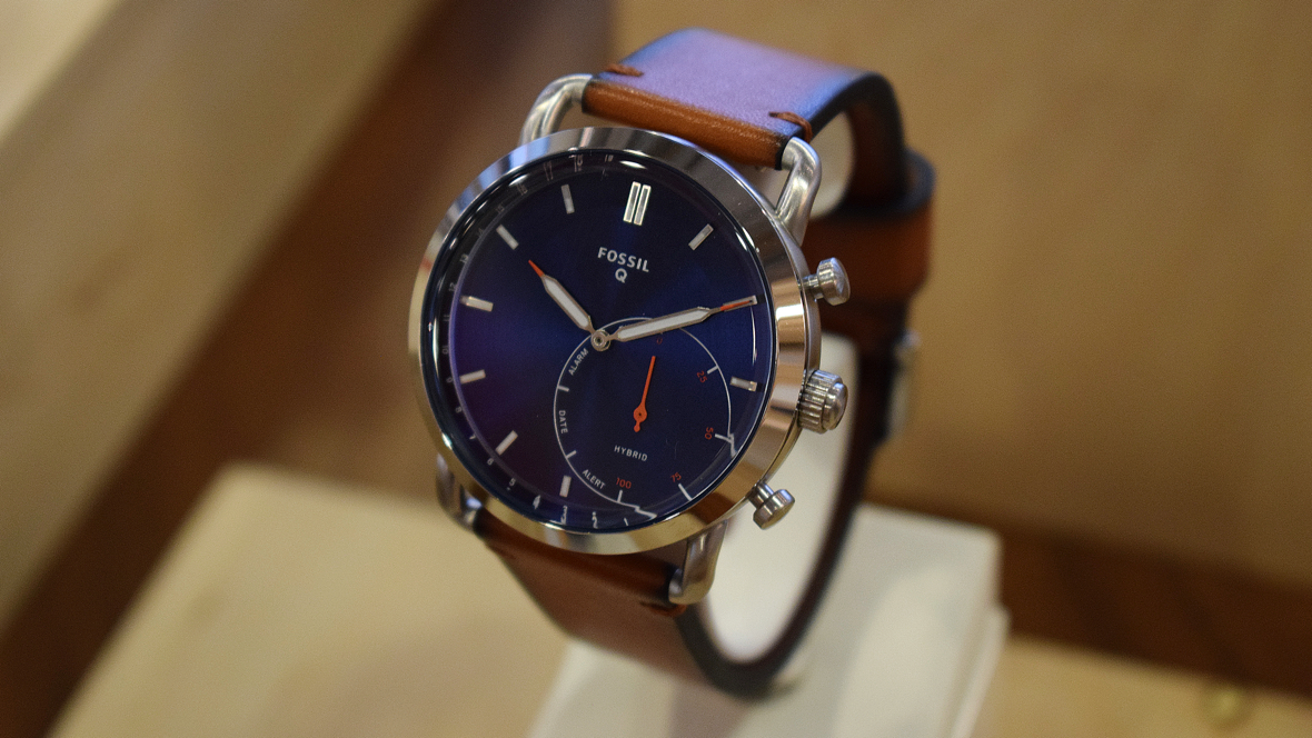 Fossil's Q Commuter might be its best looking hybrid ...