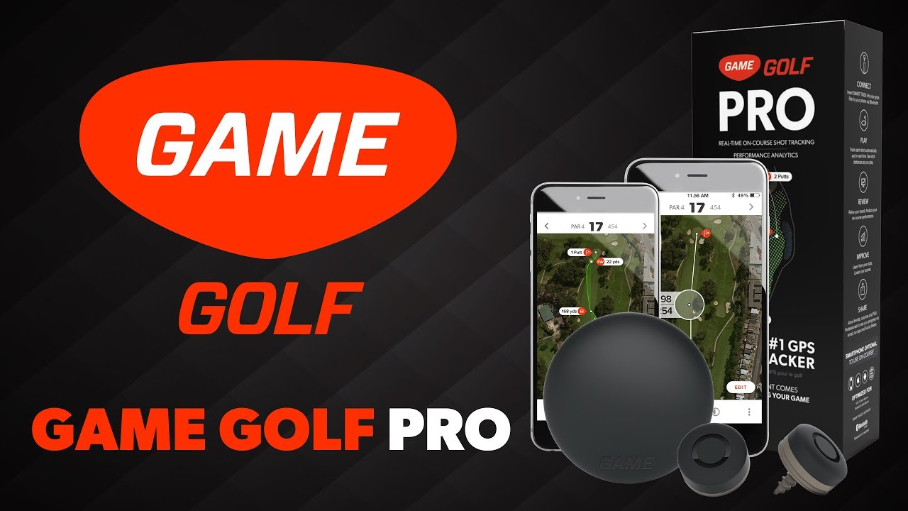 GAME GOLF PRO - Golf's Most Advanced Stat Tracker - YouTube