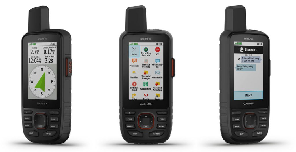 Garmin GPSMAP 66i gets InReach functionality - Hiking ...