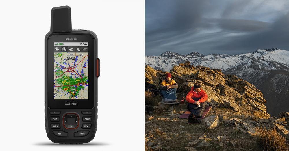 Garmin GPSMAP 66i GPS Satellite Communicator | HiConsumption