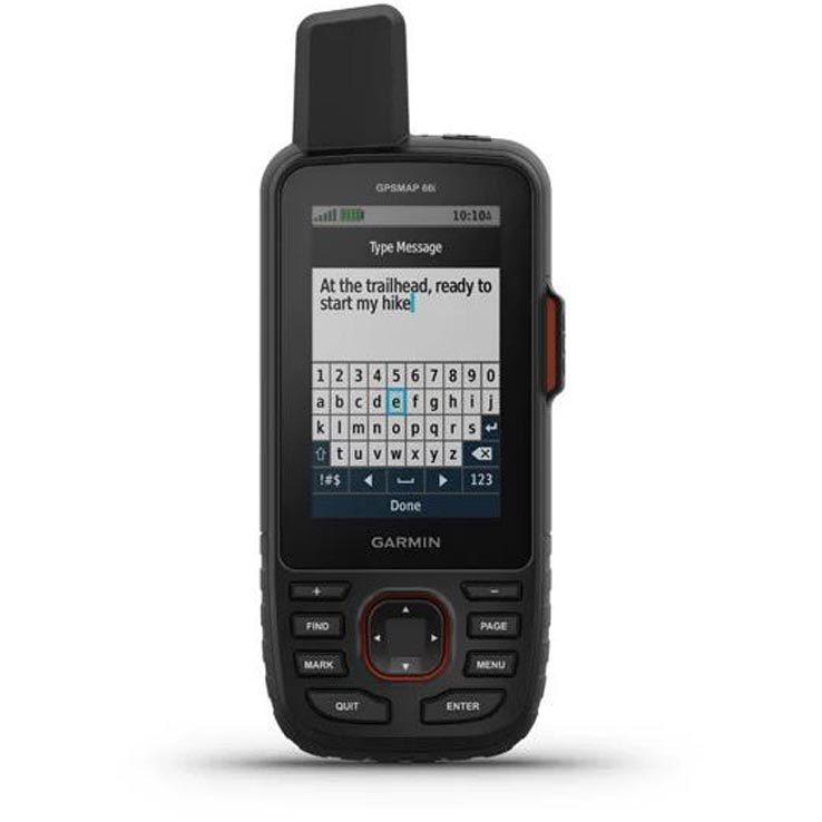 Garmin GPSMAP 66i Handheld GPS with Satellite Communicator ...