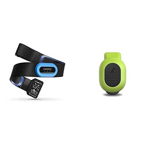 Garmin HRM-Tri Heart Rate Monitor Bundle with Garmin 010-12520-00 Running Dynamics Pod