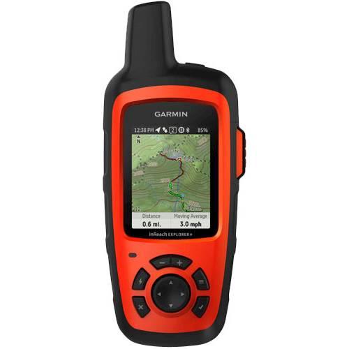 "Garmin - inReach Explorer®+ 2.31"" GPS with Built-In Bluetooth - Orange"