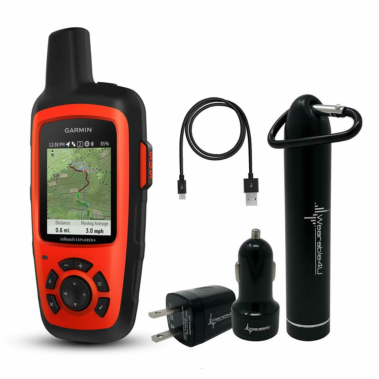 Garmin InReach Explorer+ Handheld Satellite Communicator ...