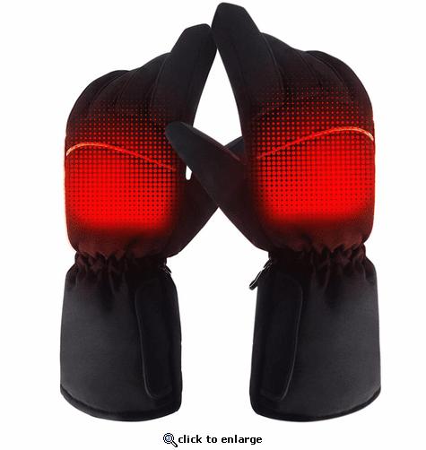 Global Vasion 4.5V Hand Warmer Electric Heated Gloves ...
