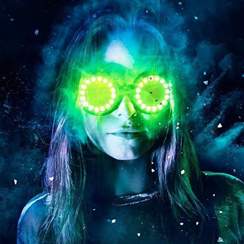 GloFX LED Pixel Pro Goggles - Tinted Lens