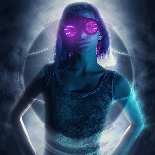 GloFX Pixel Pro Infinite Portal Goggles