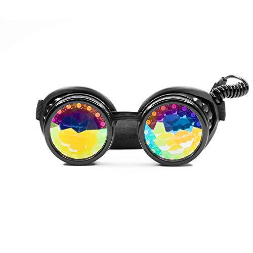 GloFX Pixel Pro Kaleidoscope Goggles