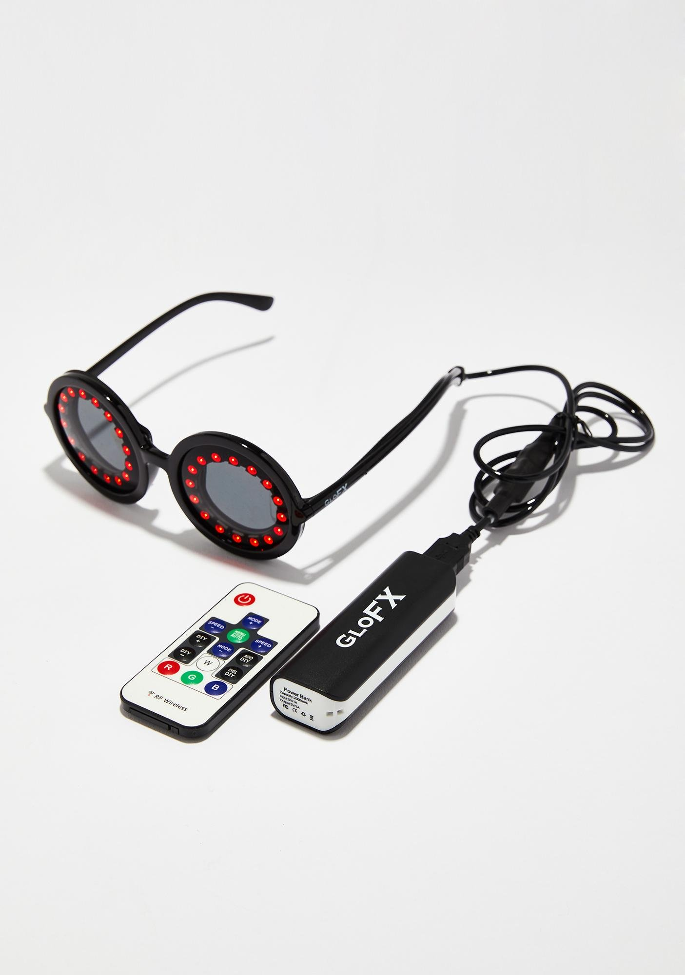 GloFX Pixel Pro LED Glasses | Dolls Kill