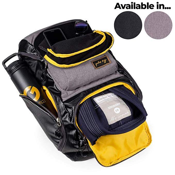 gold bjj Jiu Jitsu Backpack