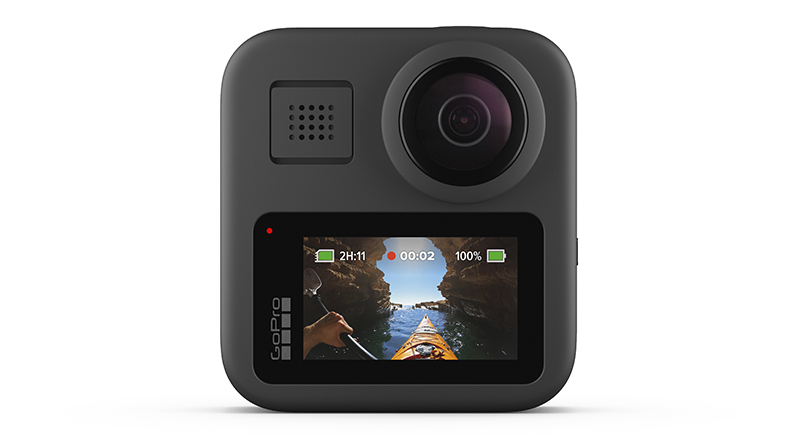 GoPro HERO8 Black action camera and GoPro MAX 360-degree ...