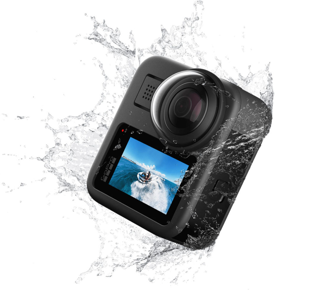 GoPro Max 360° action camera makes fully immersive video ...