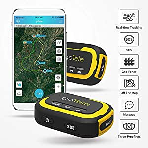 goTele GPS Tracker, No Monthly Fee No Network Required ...