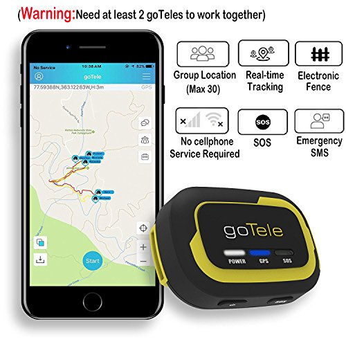 goTele Offline Outdoor Real Time GPS Tracker for ...