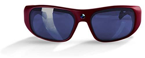 GoVision Apollo 1080p HD Camera Glasses - Maroon