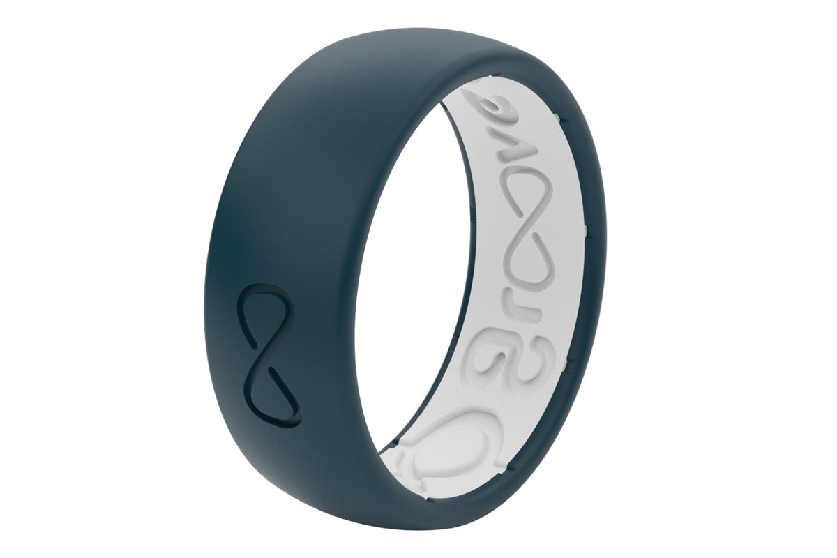 Groove Silicone Ring | Anchor | Silicone Wedding Ring ...