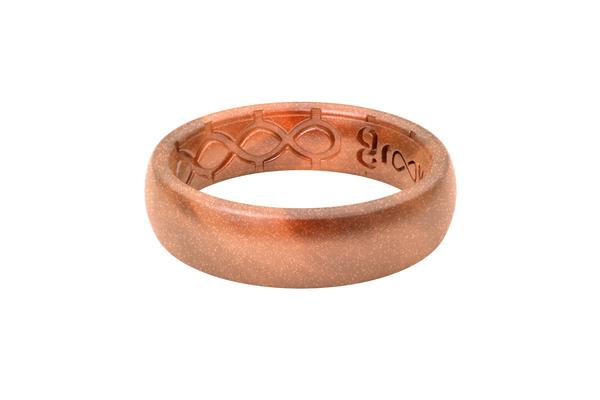Groove Thin Silicone Ring - Copper | Groove Life ...